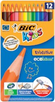 Buntstift BIC® KIDS ECOlutions EVOLUTION, 12-farbig