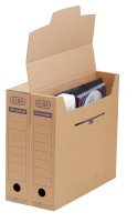 Archiv-Box, tric system, Wellpappe, 76 x 339 x 314 mm, naturbraun, 12er Packung