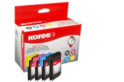 KORES IJ-Multipack LC-985 für Brother DCP-J 125, ua.