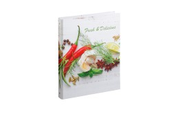 Rezeptringbuch A4 Fresh & Delicious 4-Ring + Register
