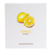 "Rezeptordner ""Simple is best"""